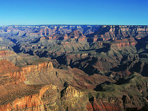 1908 in the United States - January 11: Grand Canyon designated as a monument, and later, in 1919, becomes a National Park.