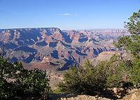 El Gran Cañón del Colorado, símbolo de Arizona por excelencia.