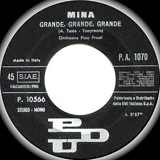 Grande grande grande - Original label (1972)