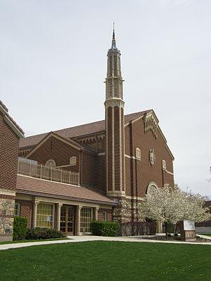 Granite Stake Tabernacle - The Granite Stake Tabernacle in 2011