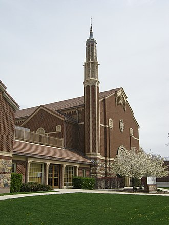 Edward O. Anderson - Image: Granite Stake Tabernacle 1