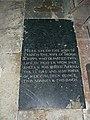 Grave, St Nicholas' church, Berwick Bassett - geograph.org.uk - 1010419.jpg