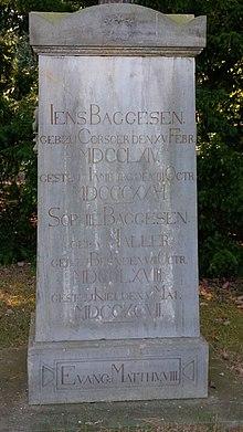 Grabstätte auf dem Parkfriedhof Eichhof Kiel (Quelle: Wikimedia)