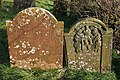 Gravestones in Dornock Parish Churchyard - geograph.org.uk - 1061863.jpg