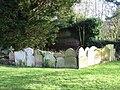Graveyard of St John the Baptist church - geograph.org.uk - 1130554.jpg