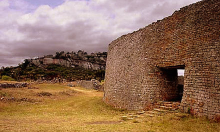 Ruins of Great Zimbabwe (flourished eleventh to fifteenth centuries) Great Zimbabwe Closeup.jpg