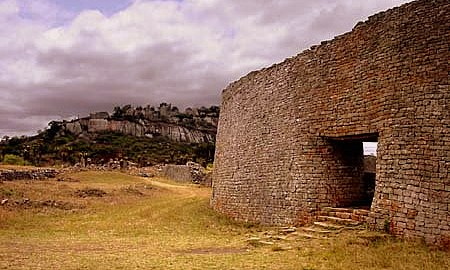 Great Zimbabwe Closeup