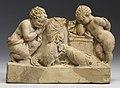 Greek - Three People Watching a Cock Fight - Walters 481714.jpg