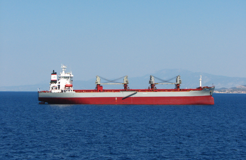 Greek tanker ship