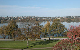 Vue du parcGreen Lake (Seattle) sur Commons