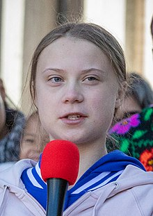 Greta Thunberg was nominated in 2019 for her work as a climate catalyst.
