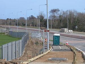 R774 road (Ireland) - R774 near the temporary N11 junction