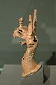 Griffin, protoma, small bronze, 7th c BC, Prague, ÚkA 58-456, 151784.jpg