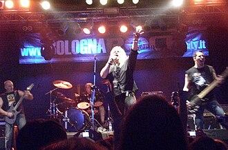 Grim Reaper (band) - Grim Reaper live 2010