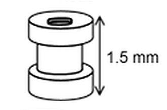 Grommet - Tympanostomy tube.