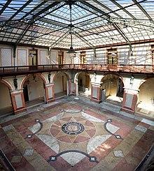 Cortile interno di Palazzo Ducale