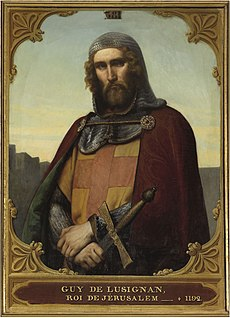 Guy of Lusignan King of Jerusalem