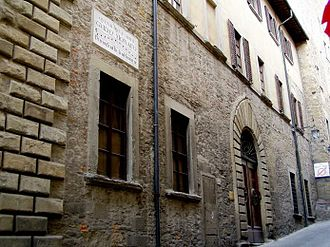 Guido of Arezzo - Image: Guido house 20030330