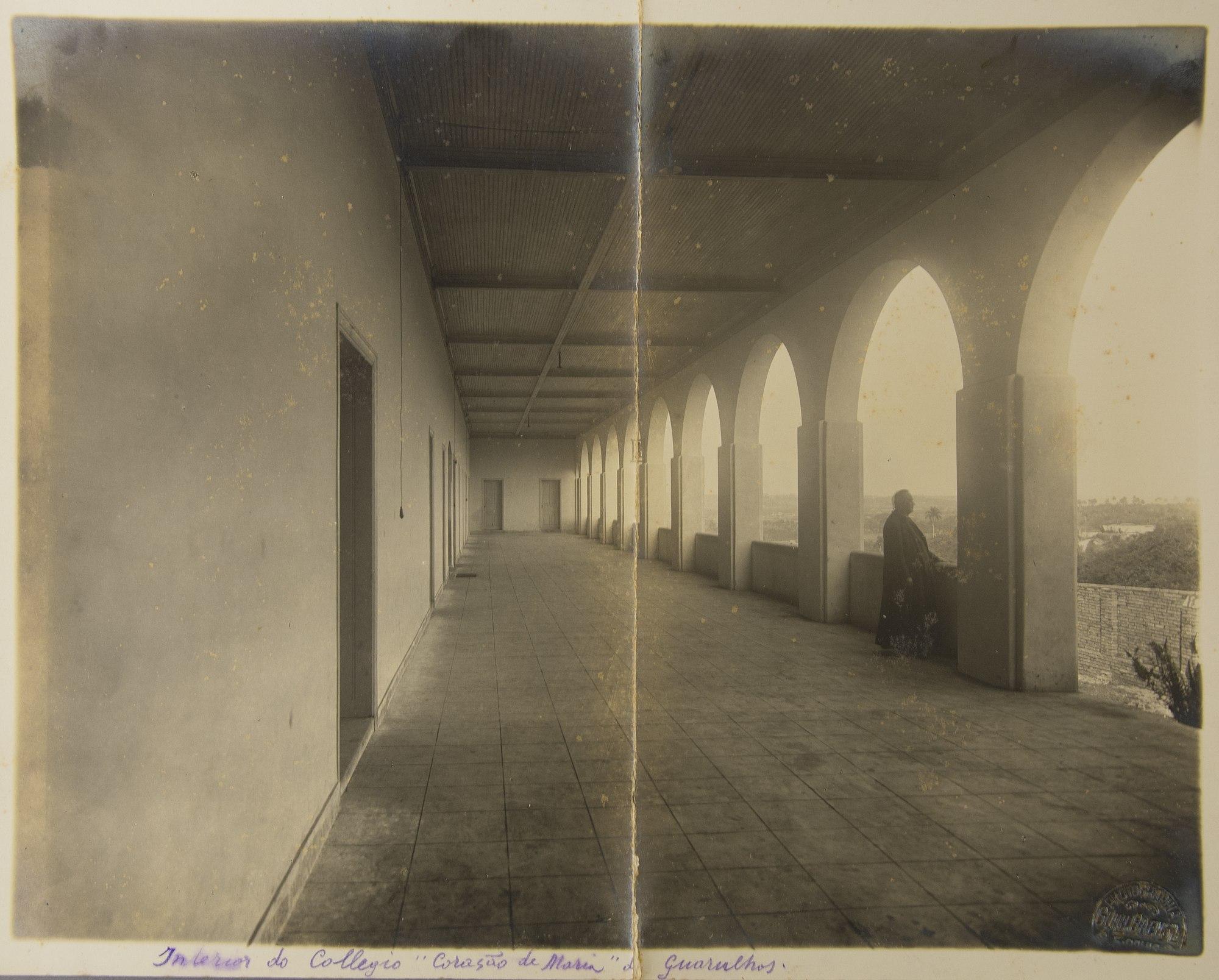 Interior do Colégio Coração de Maria de Guarulhos