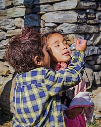 Gurung (Tamu) Kids at Dana,Nepal-Wiki Loves Villages-0605.jpg
