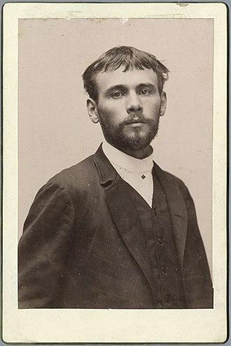 Gustav Klimt - Gustav Klimt in 1887