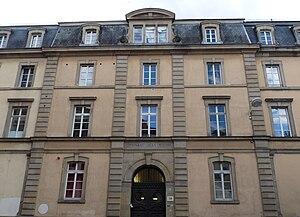 Jean Sturm Gymnasium - Main entrance