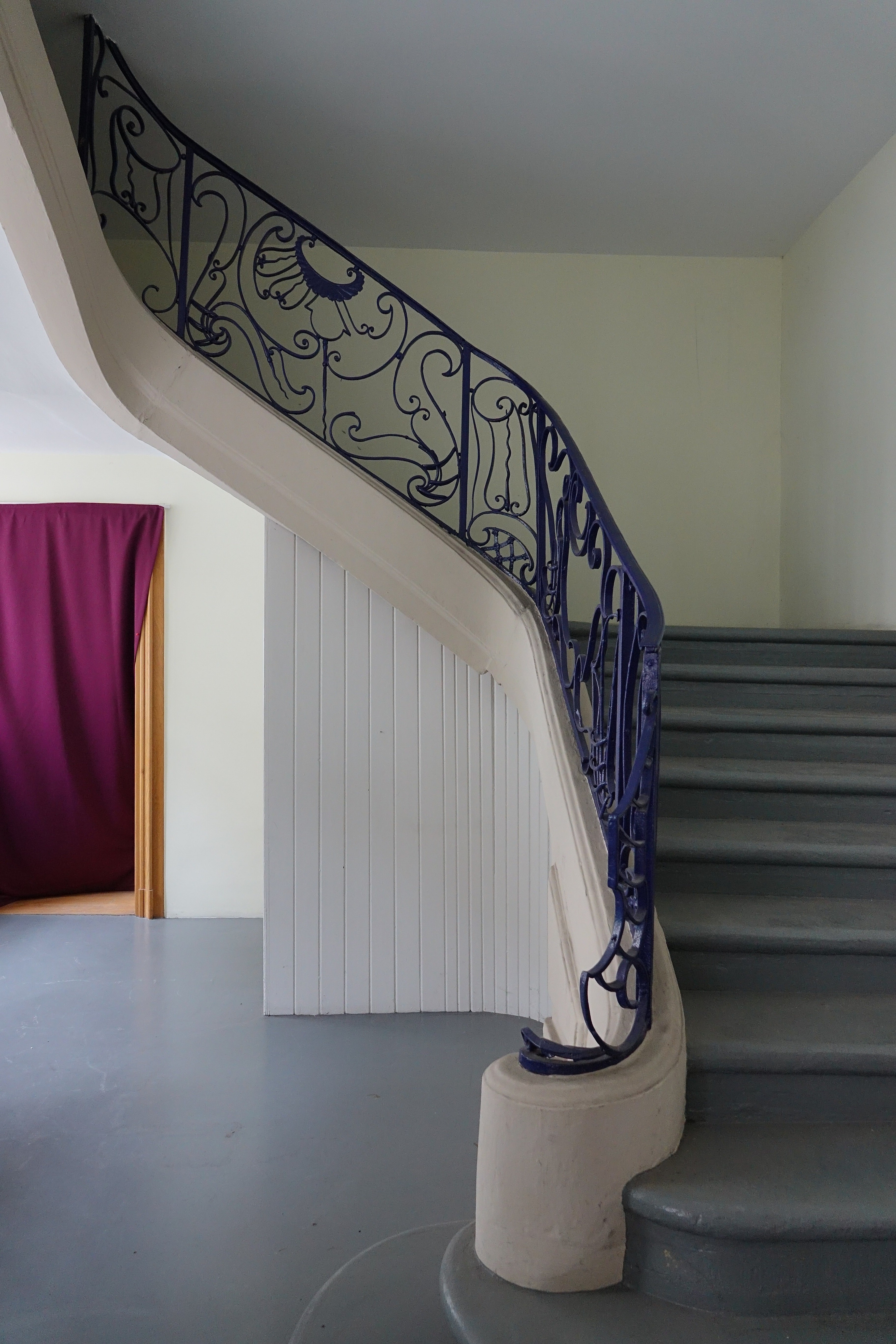 Garde De Corps Escalier file:hôtel de neuwiller - aile centrale - escalier à garde