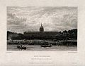 Hôtel des Invalides, Paris; panoramic view from the river. E Wellcome V0014316.jpg