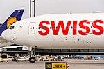 HB-JNE Swiss Boeing 777-3DE(ER) @ Frankfurt Rhein-Main International (FRA - EDDF) - 02 September 2016 (2).jpg