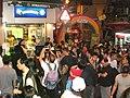 HK Central Night Lan Kwai Fong 2008 D'Aguilar Street Modelling n Cameramen a.jpg
