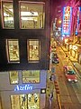 HK Central night 18 Cochrane Street Azelia fashion shop Wellington Street Sep-2014 The Strand.JPG