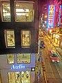 HK Central night 18 Cochrane Street Azelia fashion shop Wellington Street Sep-2014 The Strand.JPG