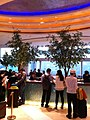 HK Hung Hom 都會海逸酒店 Harbour Plaza Metropolis Kln hall lobby interior Feb-2013.JPG