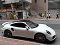 HK SW 上環 Sheung Wan 皇后大道中 Queen's Road Central white car parking April 2021 SS2 01.jpg