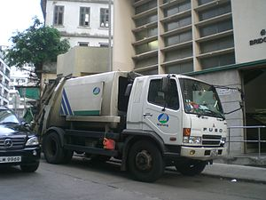 Mitsubishi Fuso Fighter - Fuso Fighter in Hong Kong (1)