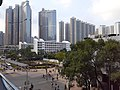HK TKO 將軍澳 Tseung Kwan O 唐俊街 Tong Chun Street footbridge view November 2019 SS2 09.jpg