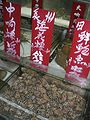 HK Wan Chai Lockhart Road Canal Road Seafood shop evening 海花螺 spiral shells.JPG