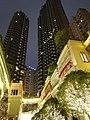 HK Wan Chai night Lee Tung Avenue facades Dec-2015 DSC 002.JPG