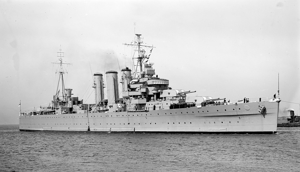 HMAS Australia Oct 1953 SLV
