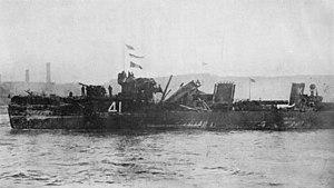HMS Spitfire (1912) - HMS Spitfire