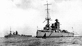 Nelson-class battleship - Nelson and Rodney