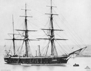 HMS Penguin (1876) - Image: HMS Penguin