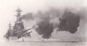 HMS Royal Sovereign (05) gunnery exercise.jpg