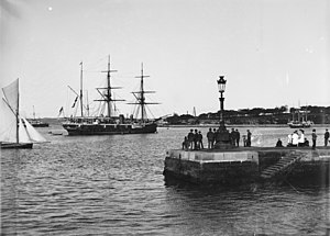 HMS Royalist in Sydney Flickr 3640341634.jpg