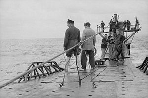HMS Tribune (N76) - Filming aboard Tribune in 1943
