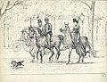 HUA-818652-Afbeelding van twee dames en een heer te paard in de Maliebaan te Utrecht op de achtergrond een vélocipède.jpg