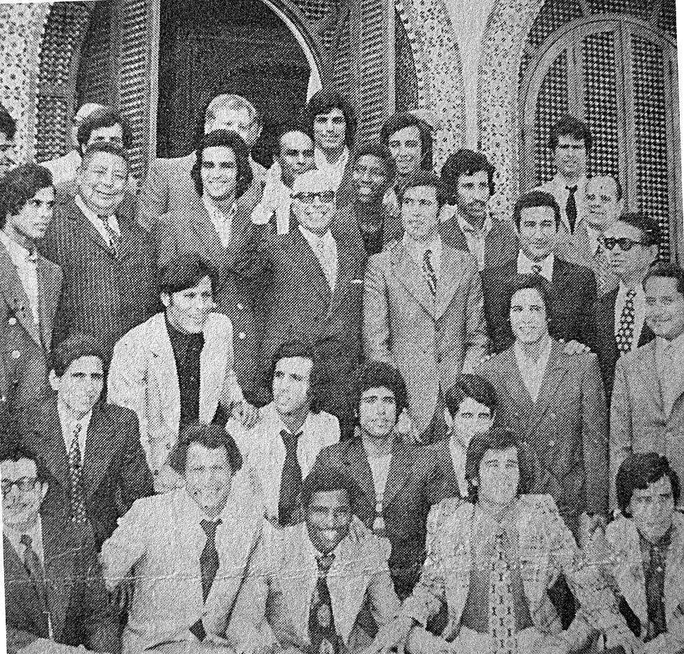 Habib Bourguiba coupe Palestine 1973