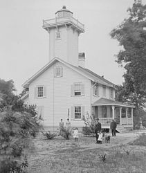 Haig Point Rear Range Light (1885)