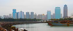 Haikou city skyline