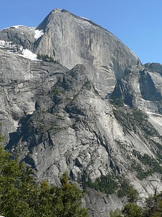 Geology of the Yosemite area - Image: Half Dome 08402